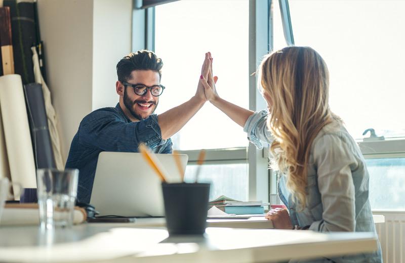 New Leadership lohnt sich auch im Büroalltag