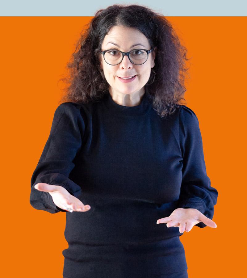 Tiziana Bruno ist eine ausgezeichnete Speakerin